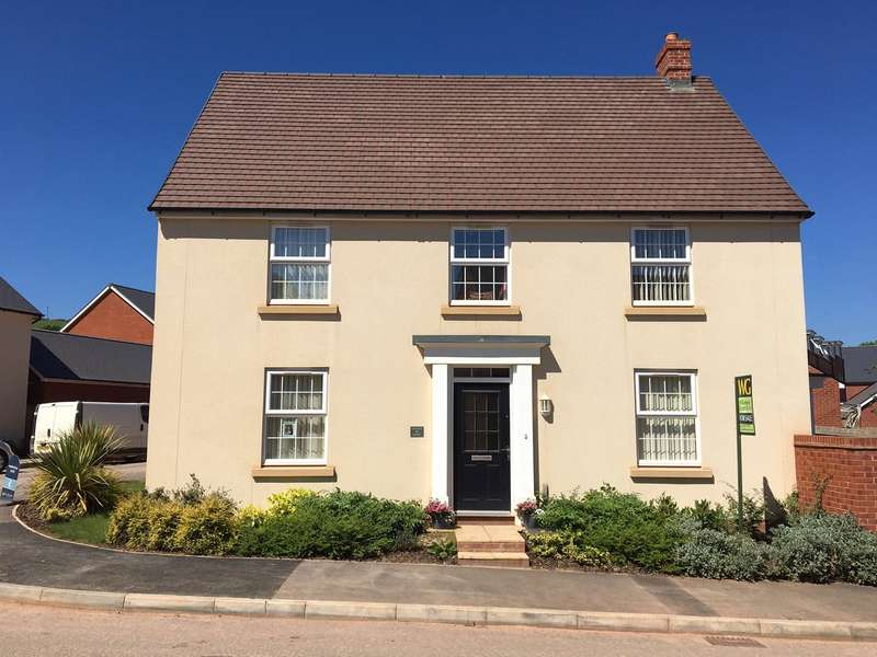 4 Bedrooms Detached House for sale in Exeter, Devon