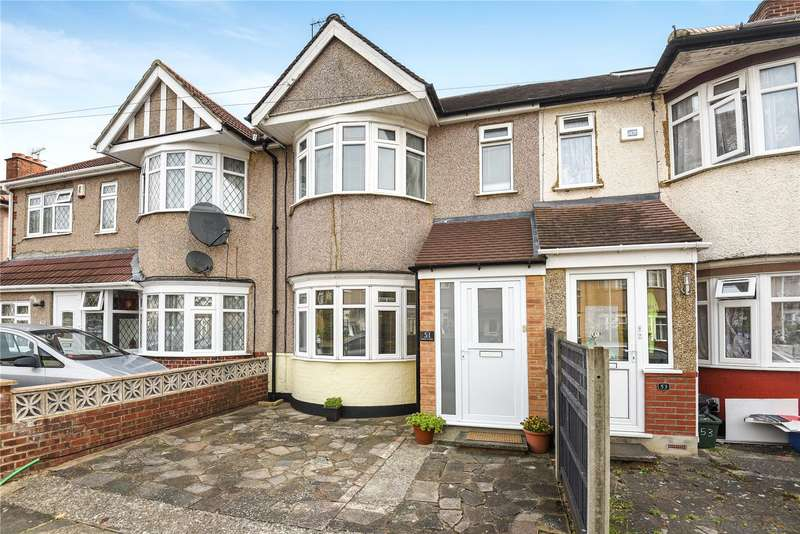 2 Bedrooms Terraced House for sale in Bideford Road, Ruislip, Middlesex, HA4