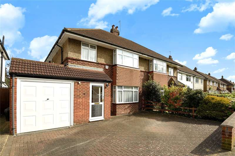 3 Bedrooms Semi Detached House for sale in Whiteheath Avenue, Ruislip, Middlesex, HA4