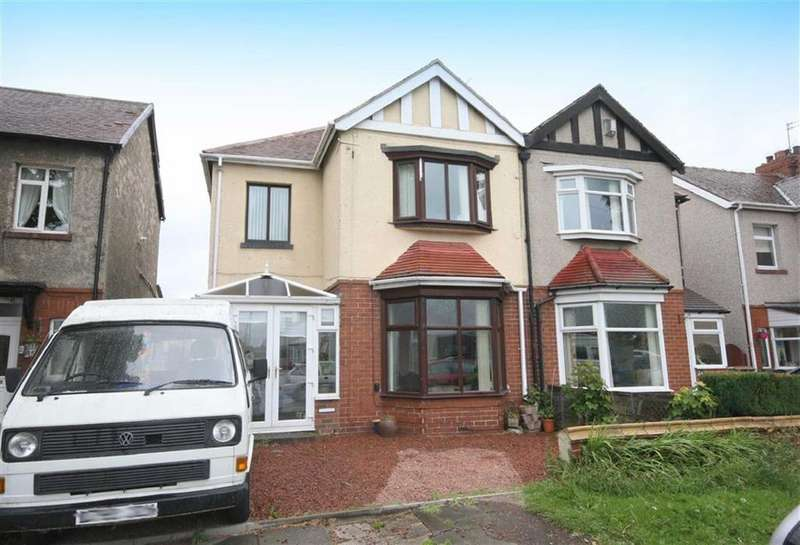 2 Bedrooms Semi Detached House for sale in Earsdon Road, Monkseaton, NE25