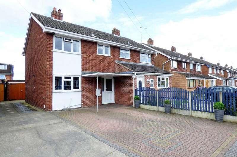 3 Bedrooms Semi Detached House for sale in Linden Road, Barton Under Needwood