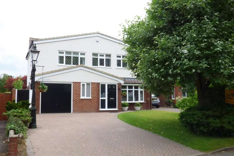 4 Bedrooms Detached House for sale in Top Road, Acton Trussell, Stafford