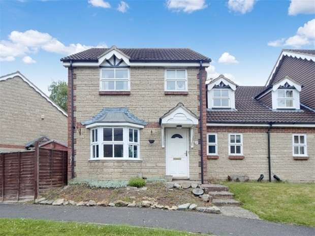 4 Bedrooms Semi Detached House for sale in Brookfields, Castle Cary