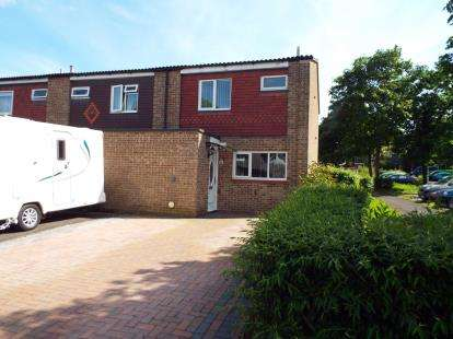 3 Bedrooms End Of Terrace House for sale in Purbrook, Waterlooville, Hampshire