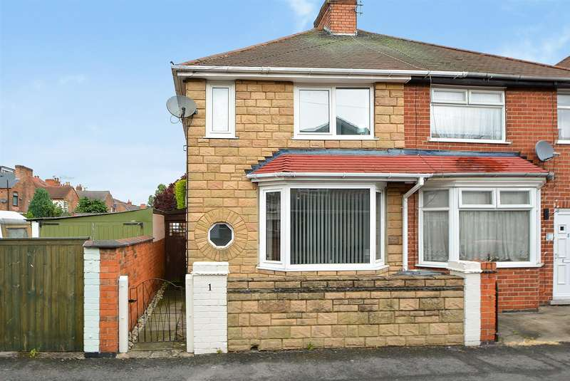 2 Bedrooms Semi Detached House for sale in Cavendish Road, Long Eaton