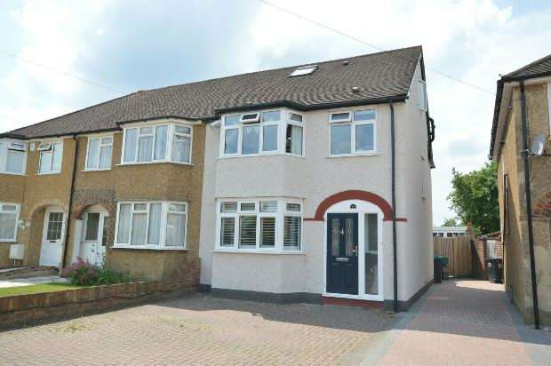 4 Bedrooms End Of Terrace House for sale in Beverley Close, Chessington