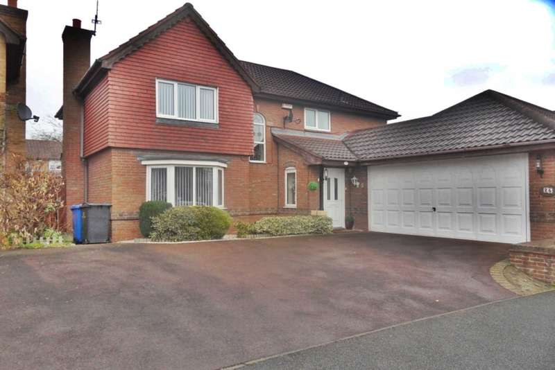 4 Bedrooms Detached House for sale in Squires Way, Heatherton