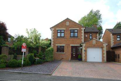 4 Bedrooms Detached House for sale in Aviemore Close, New Whittington, Chesterfield, Derbyshire