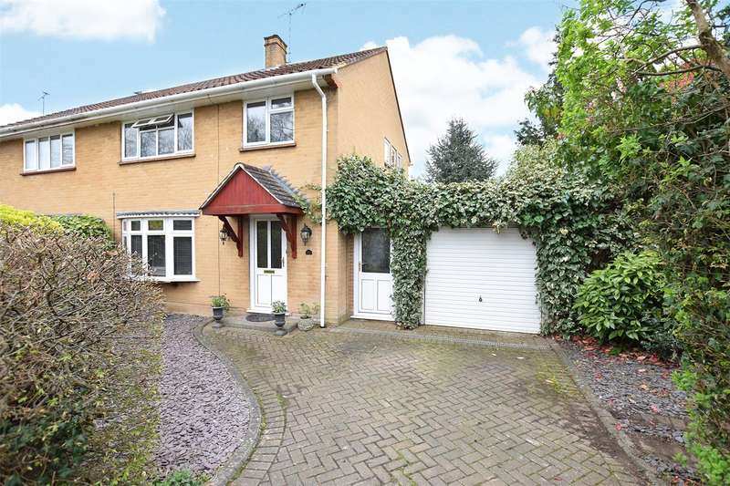 3 Bedrooms Semi Detached House for sale in Coppice Green, Bracknell, Berkshire, RG42