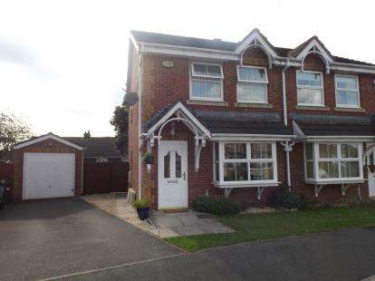 3 Bedrooms Semi Detached House for sale in Waltersgreen Crescent, Golborne, Warrington, Cheshire