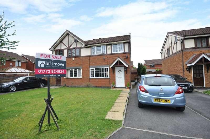3 Bedrooms Semi Detached House for sale in Dovedale Close, Ingol, Preston, Lancashire, PR2 3WR