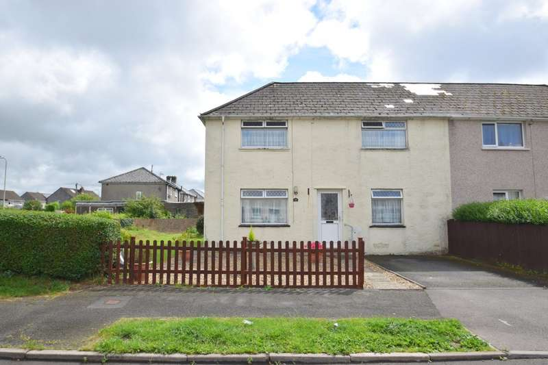 3 Bedrooms Semi Detached House for sale in 63 Pendre, Litchard, Bridgend, Bridgend County Borough, CF31 1PE.