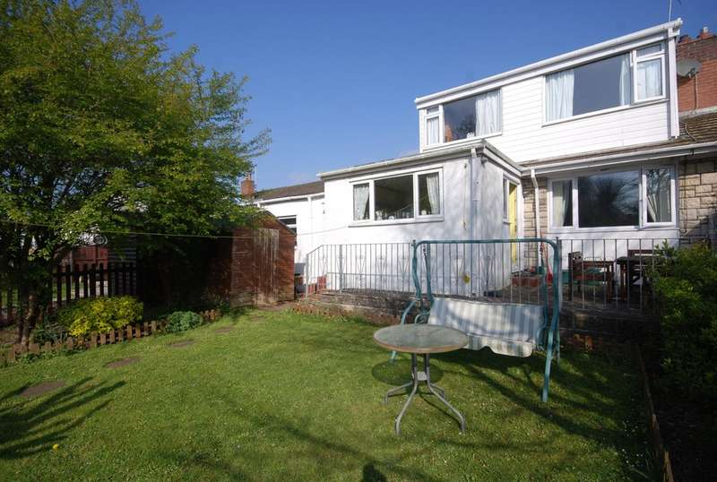 3 Bedrooms Semi Detached Bungalow for sale in Boverton Brook, Boverton, Llantwit Major, Vale of Glamorgan, CF61 1YH