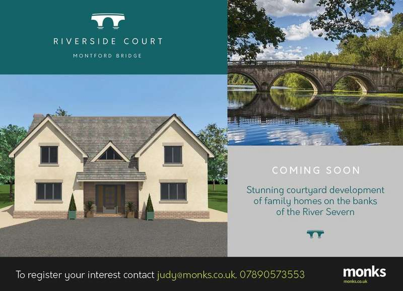 5 Bedrooms Detached House for sale in Cartland House Riverside Court, Montford Bridge, Shrewsbury