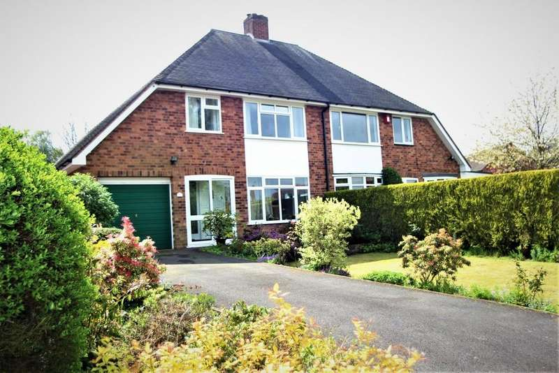 3 Bedrooms Semi Detached House for sale in Lincoln Croft, Shenstone