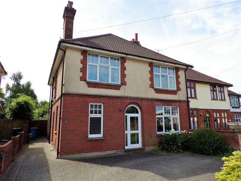 4 Bedrooms Detached House for sale in Woodbridge Road East, Ipswich
