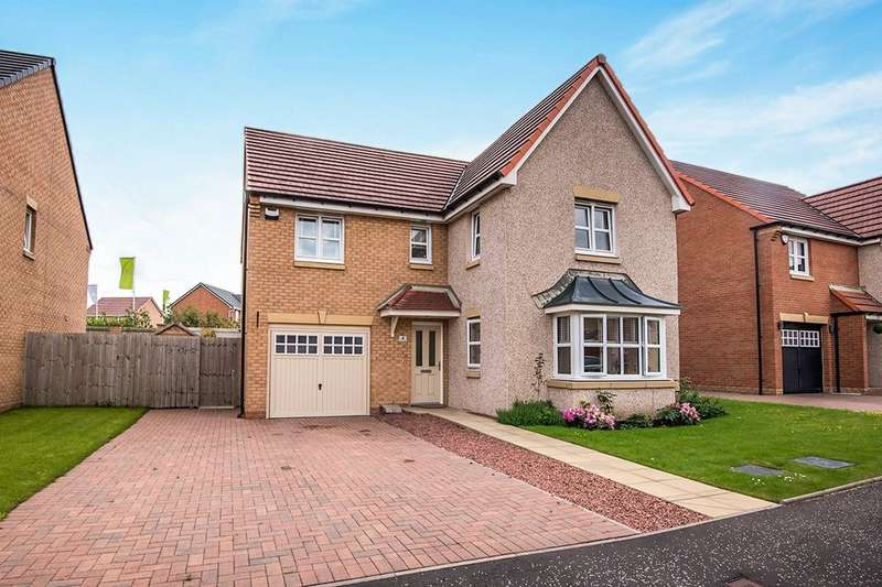 4 Bedrooms Detached House for sale in Cairncross Place, Coatbridge, ML5