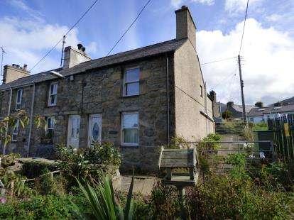 2 Bedrooms End Of Terrace House for sale in Green Terrace, Trefor, Caernarfon, Gwynedd, LL54