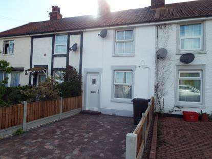 2 Bedrooms Terraced House for sale in Kirby Cross, Frinton-On-Sea, Essex
