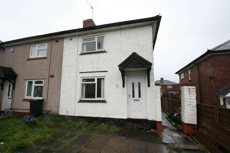 2 Bedrooms Semi Detached House for sale in Exeter Road, NETHERTON, Dudley, West Midlands