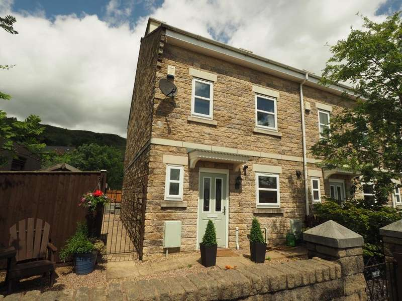 4 Bedrooms End Of Terrace House for sale in The Terrace, Station Road, Chinley, High Peak, Derbyshire, SK23 6AY