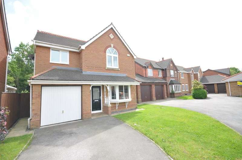 4 Bedrooms Detached House for sale in Bideford Way, Cottam, Preston, Lancashire, PR4 0LX