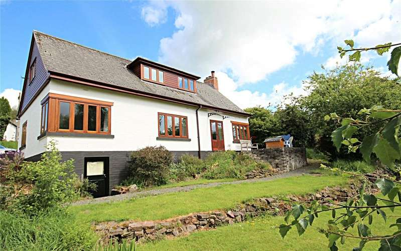 4 Bedrooms Detached House for sale in Lon Slwch, Brecon, Powys