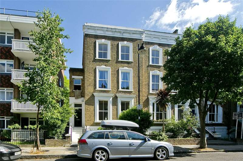 3 Bedrooms Maisonette Flat for sale in Oakley Road, Canonbury, N1