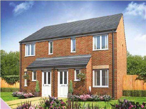 2 Bedrooms Semi Detached House for sale in Alnwick, Mampitts Lane, Shaftesbury