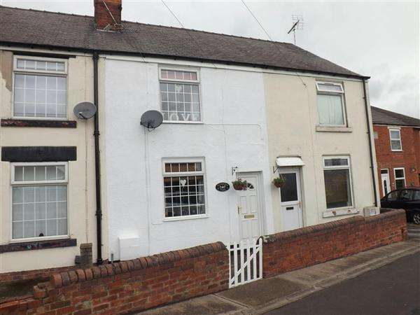 2 Bedrooms Terraced House for sale in Rotherham Road, Clowne, Chesterfield