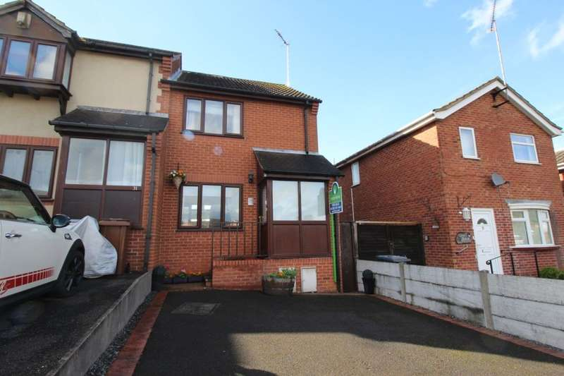 2 Bedrooms Property for sale in Norman Road, Tutbury, Burton-On-Trent, DE13