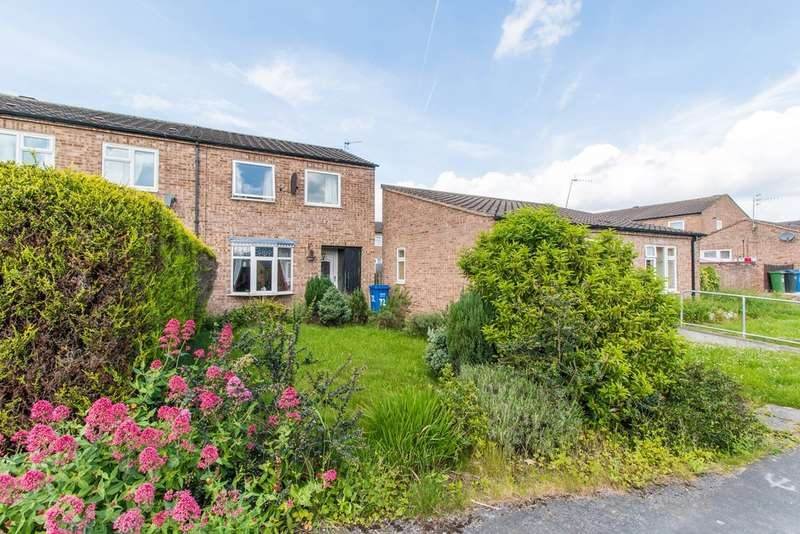 2 Bedrooms Semi Detached House for sale in Holme Hall Crescent, Chesterfield