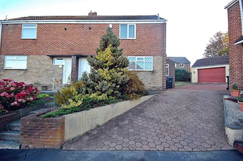 2 Bedrooms Semi Detached House for sale in South Lea, Witton Gilbert, Durham