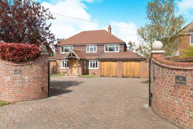 5 Bedrooms Detached House for sale in Kempshott, Basingstoke, Hampshire