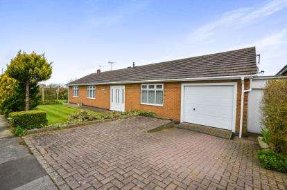 2 Bedrooms Bungalow for sale in Abbott Lea, Mansfield, Nottinghamshire