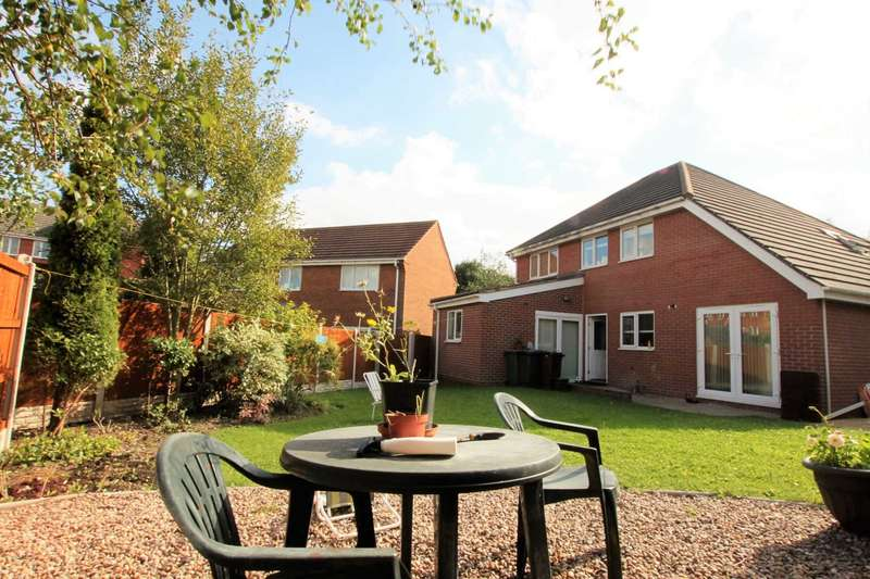 4 Bedrooms Detached House for sale in Barbel Drive, Wednesfield