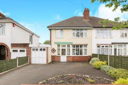 3 Bedrooms Semi Detached House for sale in Wychbury Road, Wolverhampton, West Midlands