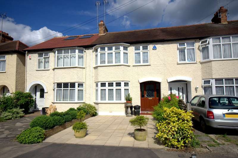 3 Bedrooms Terraced House for sale in New Malden