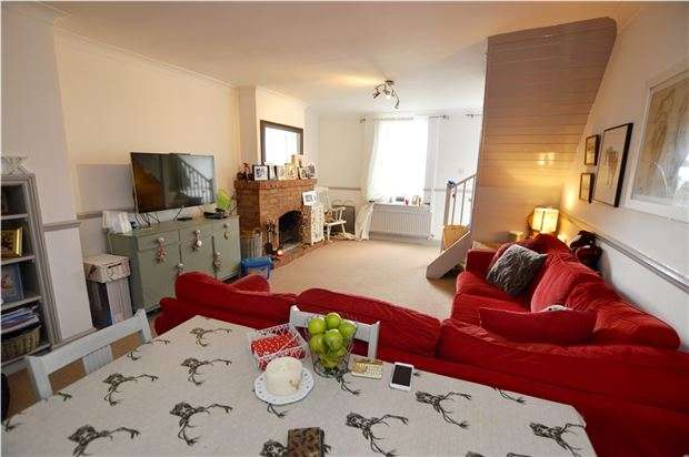 3 Bedrooms Terraced House for sale in Spillmans Road, Stroud, Gloucestershire, GL5 3LT