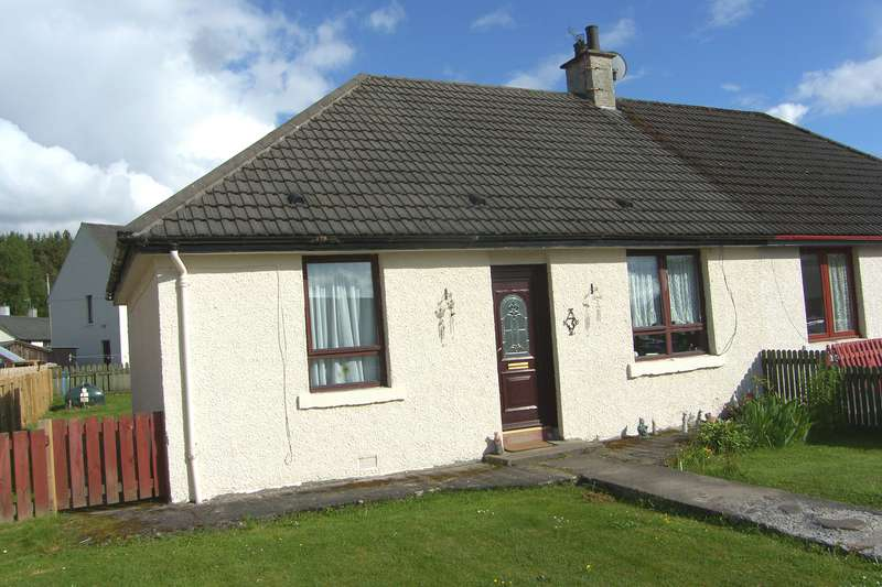 2 Bedrooms Bungalow for sale in Lynstock Crescent, Nethybridge, PH25 3DX