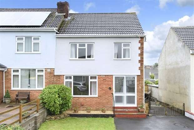 3 Bedrooms Semi Detached House for sale in Lewis Crescent, Frome