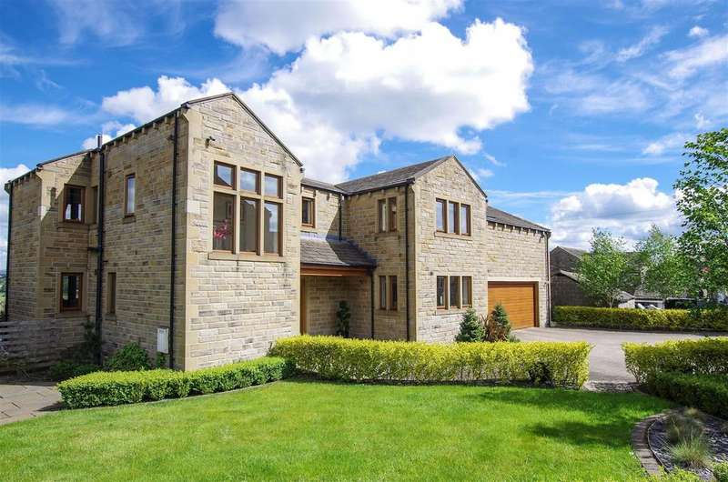 5 Bedrooms Detached House for sale in Stainland Road, Stainland