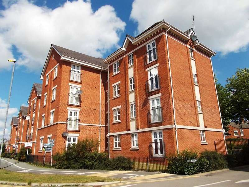 2 Bedrooms Apartment Flat for sale in Junction House, Dale Way, Crewe, Cheshire, CW1