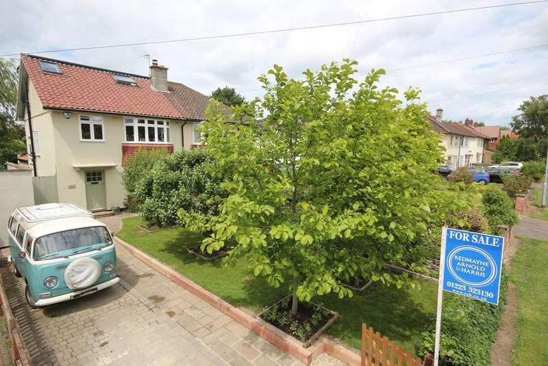 4 Bedrooms Semi Detached House for sale in Coleridge Road, Cambridge