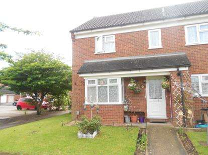 2 Bedrooms Terraced House for sale in Ryswick Road, Kempston, Bedford, Bedfordshire