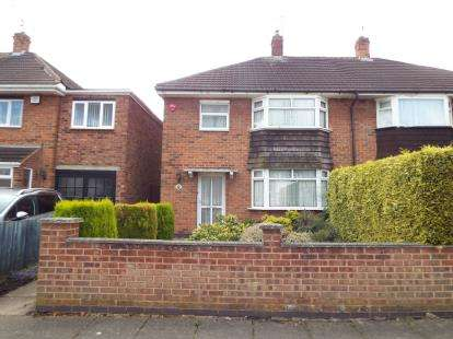 3 Bedrooms Semi Detached House for sale in Kintyre Drive, Leicester, Leicestershire, United Kingdom