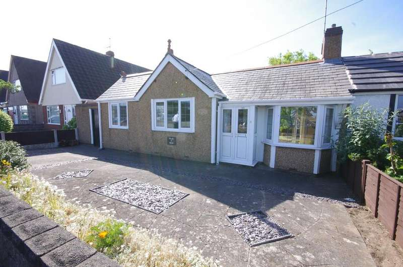 2 Bedrooms Semi Detached Bungalow for sale in Victoria Road, Prestatyn
