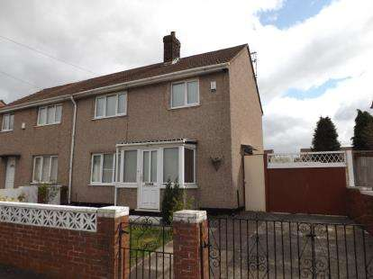 3 Bedrooms Semi Detached House for sale in Mereland Way, St. Helens, Merseyside, WA9