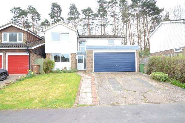 4 Bedrooms Detached House for sale in Octavia, Bracknell, Berkshire