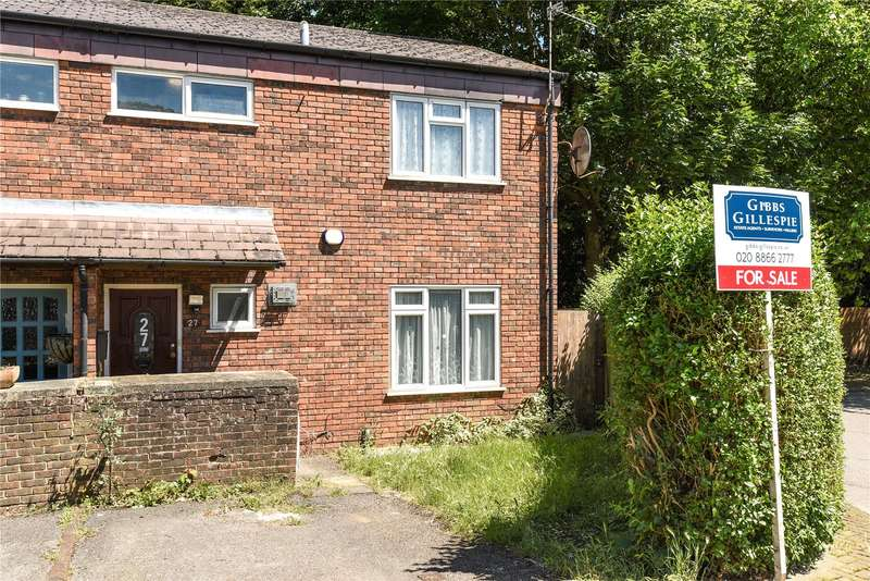 3 Bedrooms End Of Terrace House for sale in Jubilee Close, Pinner, Middlesex, HA5